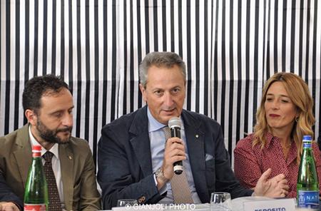 Ciro Borriello, Giuseppe Esposito e Chiara Marciani