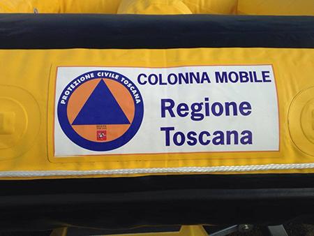 Colonna Mobile Protezione Civile Toscana