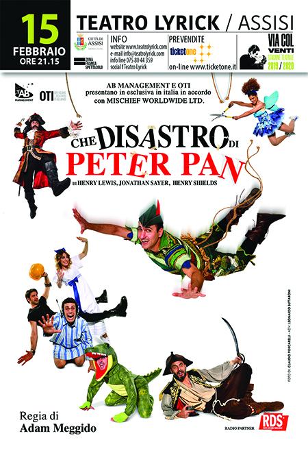 'Che disastro di Peter Pan'