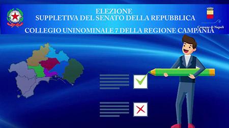 Elezione suppletiva del Senato della Repubblica nel collegio uninominale 7 della Regione Campania