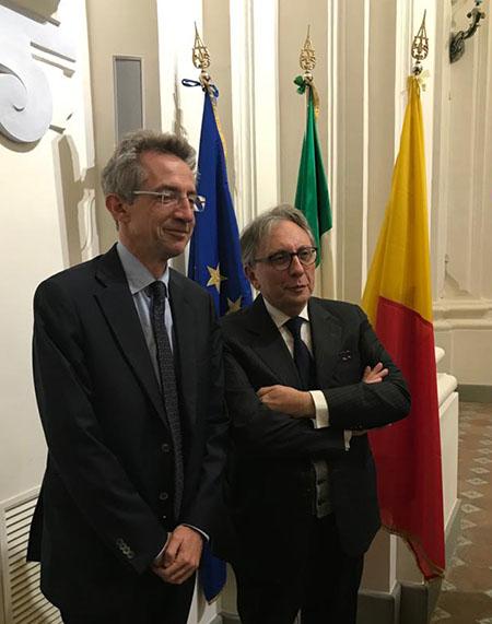 Gaetano Manfredi e Lucio d'Alessandro