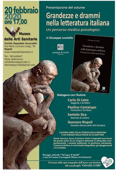'Grandezza e drammi della letteratura italiana'