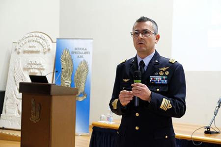 Colonnello Nicola Gigante - Comandante della Scuola Specialisti Aeronautica Militare di Caserta