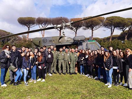 Voliamo verso il futuro! Open Day Scuola Specialisti Aeronautica Militare di Caserta