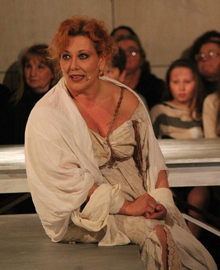 'Pollicinella e i canti de lo carnevale' - Patrizia Spinosi - ph G. Carosi
