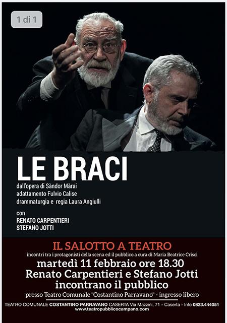 'Il Salotto a Teatro' Renato Carpentieri e Stefano Jotti
