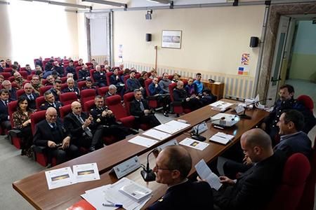 Sandro Cuomo alla Scuola Specialisti dell'Aeronautica Militare di Caserta