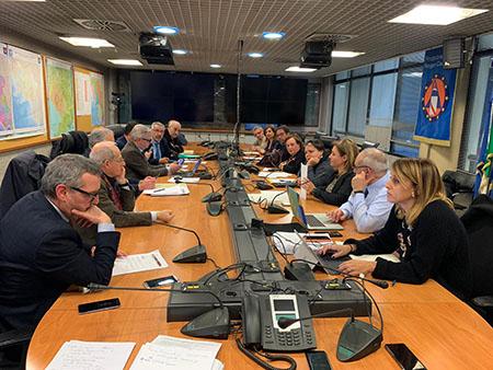 task force per il coordinamento Coronavirus Campania