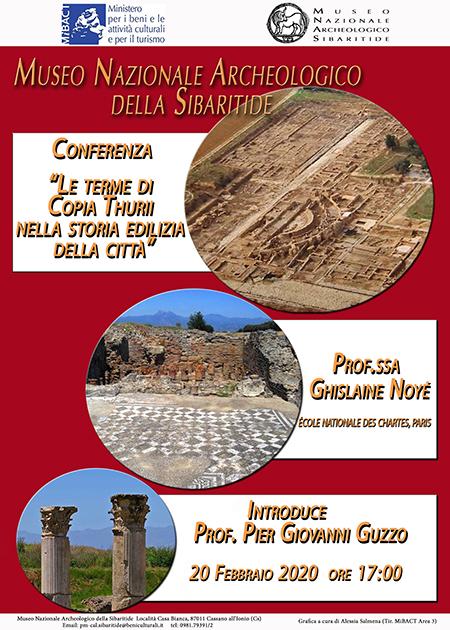 'Le terme di Copia Thurii nella storia edilizia della città'