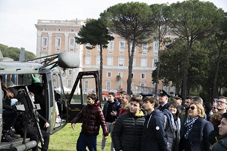 'Voliamo verso il futuro' Open Day della Scuola Specialisti dell'Aeronautica Militare di Caserta