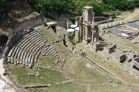 Volterra (PI) anfiteatro