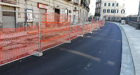 Corso Vittorio Emanuele a Napoli