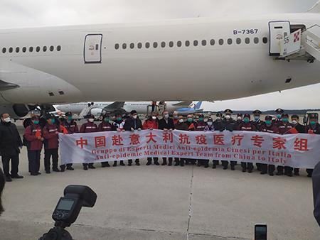 delegazione cinese sanitari