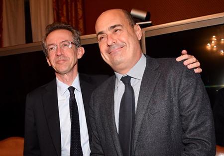 Gaetano Manfredi e Nicola Zingaretti