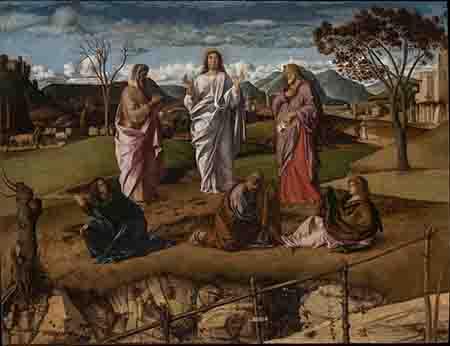Giovanni Bellini 'Trasfigurzione'