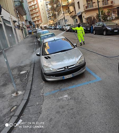 igienizzazione Napoli Arenella