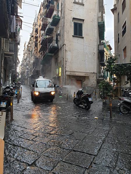 Igienizzazione Napoli Pallonetto