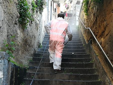 Igienizzazione San Severo Napoli