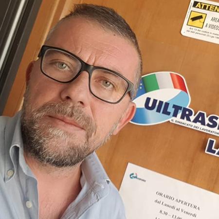 Luca Lombardi UIL Trasporti Frosinone