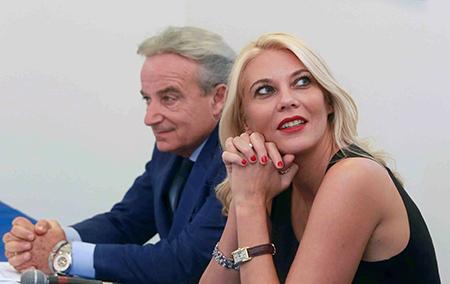 Luciano Paulillo ed Eleonora Daniele
