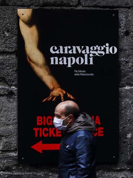 Napoli marzo 2020 - ph Sergio Siano