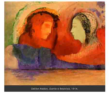 Odilon Redon, Dante e Beatrice
