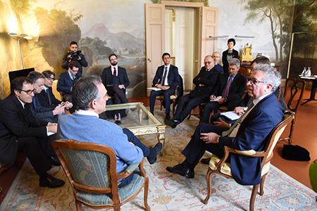 Regione Toscana e delegazione Lussemburgo