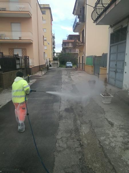 Sanificazione Napoli via Bartolo Longo