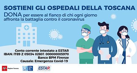Sostieni gli ospedali della Toscana