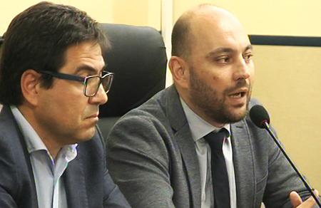 Alessio D'Amato e Stefano Lorusso