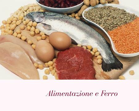Alimentazione e ferro