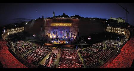 Arena Sferisterio Musicultura a Macerata