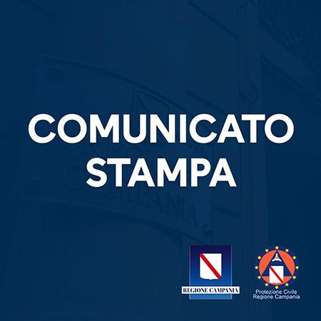 Covid-19 Campania comunicato stampa