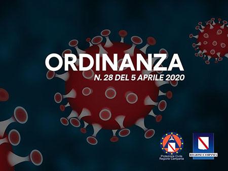 Ordinanza n.28 del 5 aprile 2020