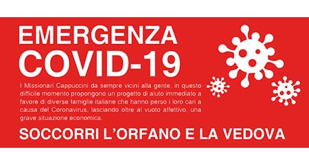Emergenza Covid-19 - 'Soccorri l'orfano e la vedova'