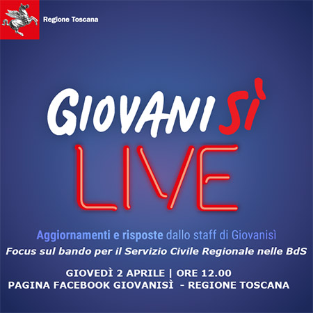 Giovanisì Live 2 aprile