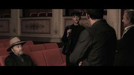 'La danza nera' - Franco Nero e Corinna Coroneo