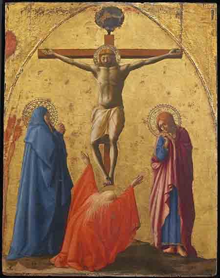 Masaccio - Crocifissione -foto Luciano Romano