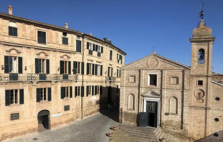 Palazzo Leopardi a Recanati (MC)