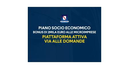 Piano Socio Economico Regione Campania