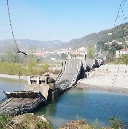 Ponte ad Albiano sul Magra