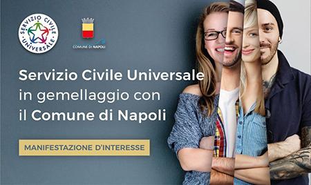 Servizio Civile Universale gemellaggio con il Comune di Napoli