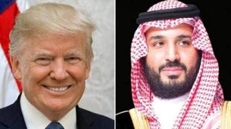 Trump e Bin Salman
