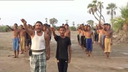 campo addestramento Houthi