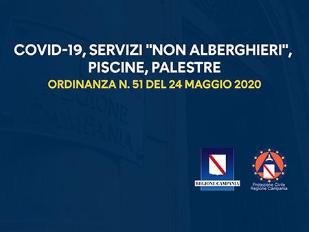 Covid-19 Campania Ordinanza n.51 del 24 maggio 2020