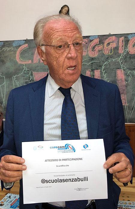 Domenico Falco - Presidente del Corecom Campania