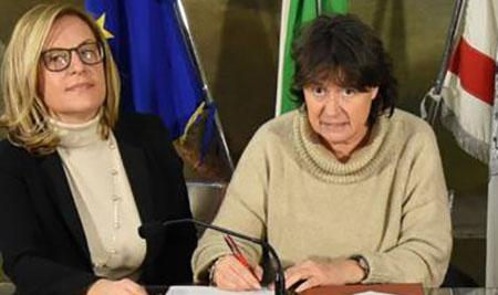 Federica Fratoni e Stefania Saccardi