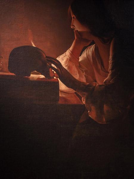 Georges de La Tour Maddalena penitente