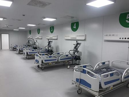 Ospedale in Fiera a Milano