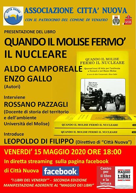 'Quando il Molise fermò il nucleare' di Aldo Camporeale ed Enzo Gallo